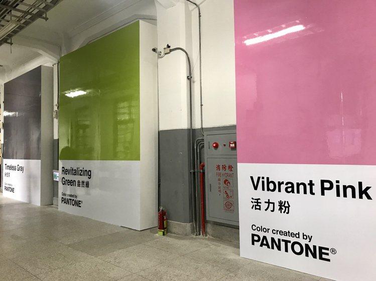 「全球城市玩色計畫-台北站」12/28起在松菸展開。記者江佩君/攝影
