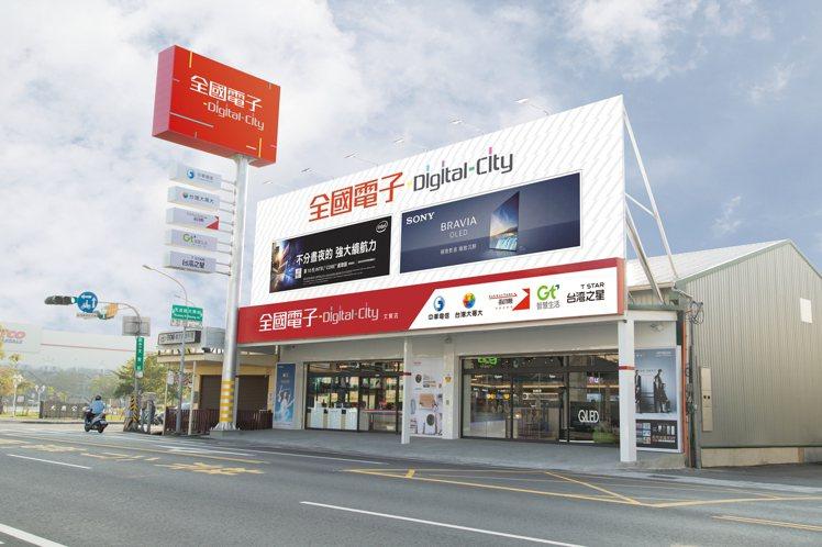 全國電子Digital City台南文賢店12月28日開幕,舉辦一連5天的開幕優...