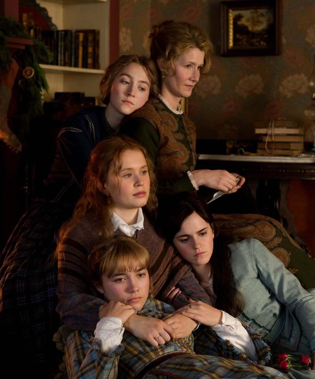 4姊妹與母親一起面對生活中的困境。圖/索尼提供