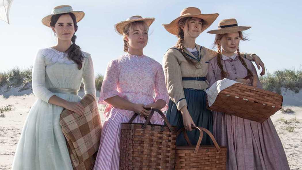 「她們」是經典名著「小婦人」最新電影版。圖/索尼提供
