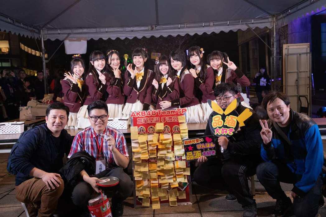 AKB48 Team TP日前於松菸四行倉庫舉辦第三張單曲「看見夕陽了嗎?」手渡...
