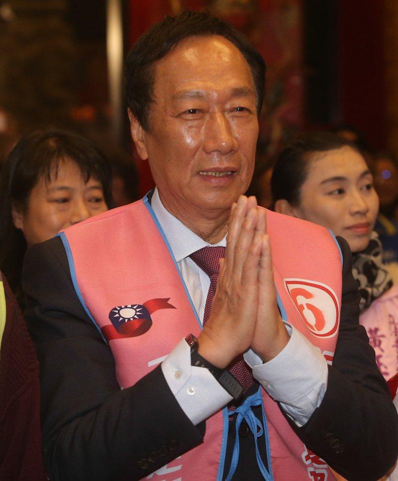 鴻海集團創辦人郭台銘。記者黃仲裕/攝影