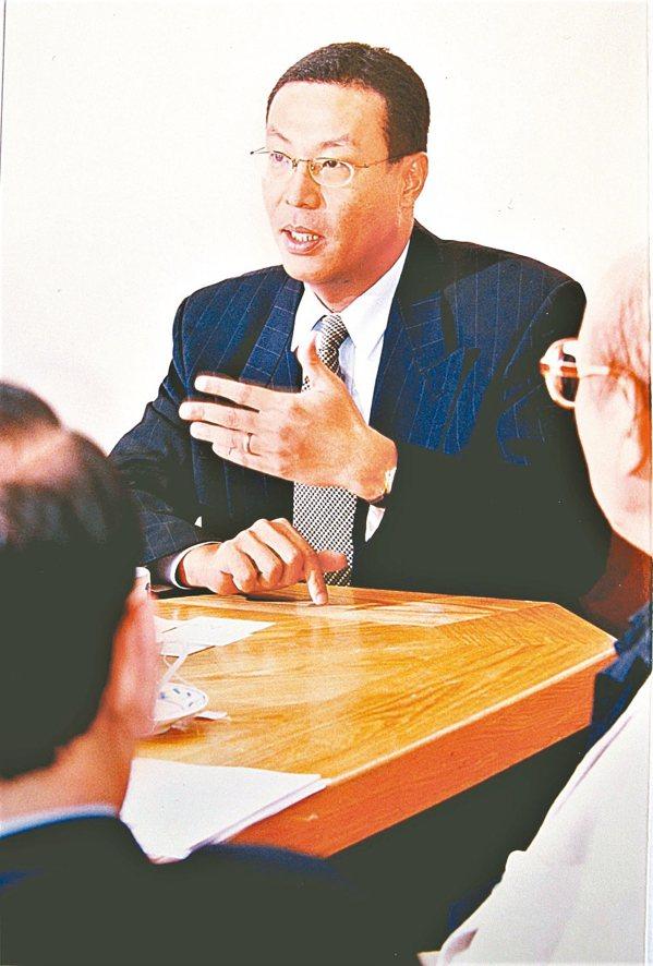 40歲時的田臨斌,是外商公司CEO。 圖/田臨斌提供
