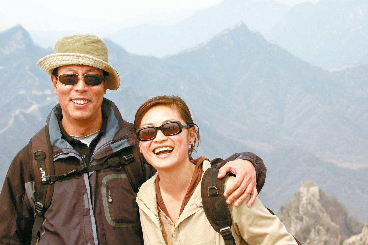 田臨斌與妻子環遊世界,閱遍人生風景。 圖/田臨斌提供