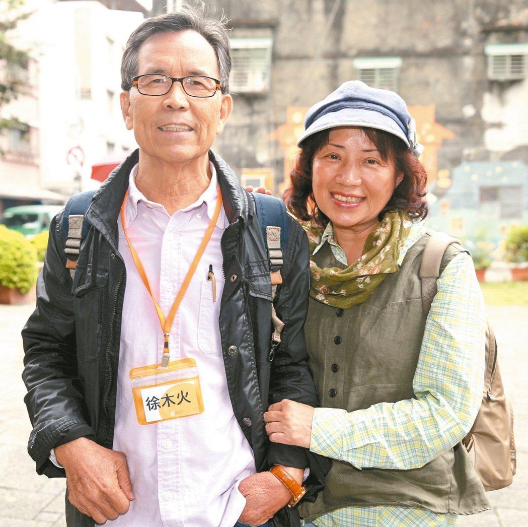 會員徐火木、吳雪靜夫婦。 圖╱侯永全攝影