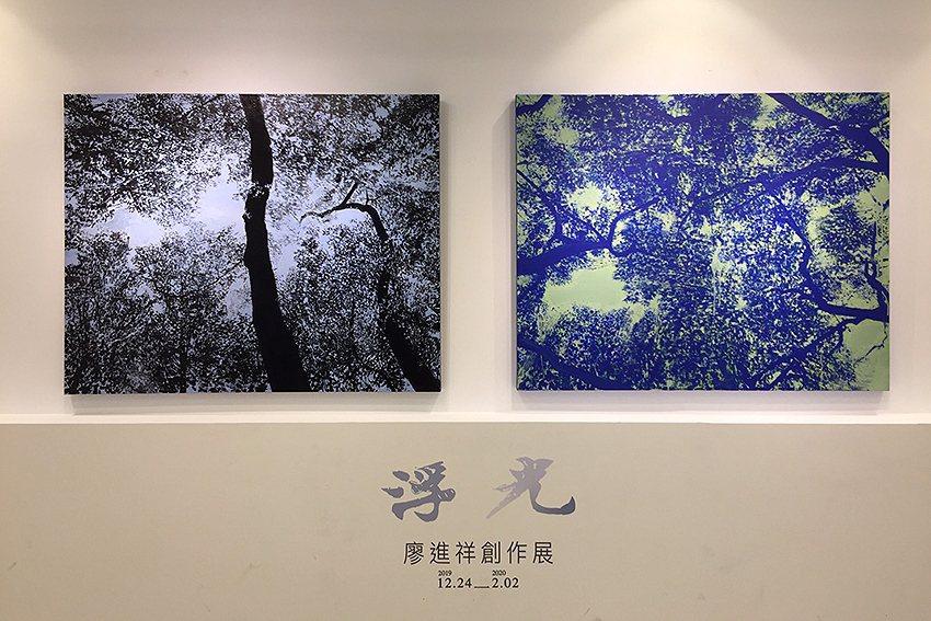 「浮光一廖進祥創作展」即日起至2月2日在藝術空間展出。 人文遠雄博物館/提供