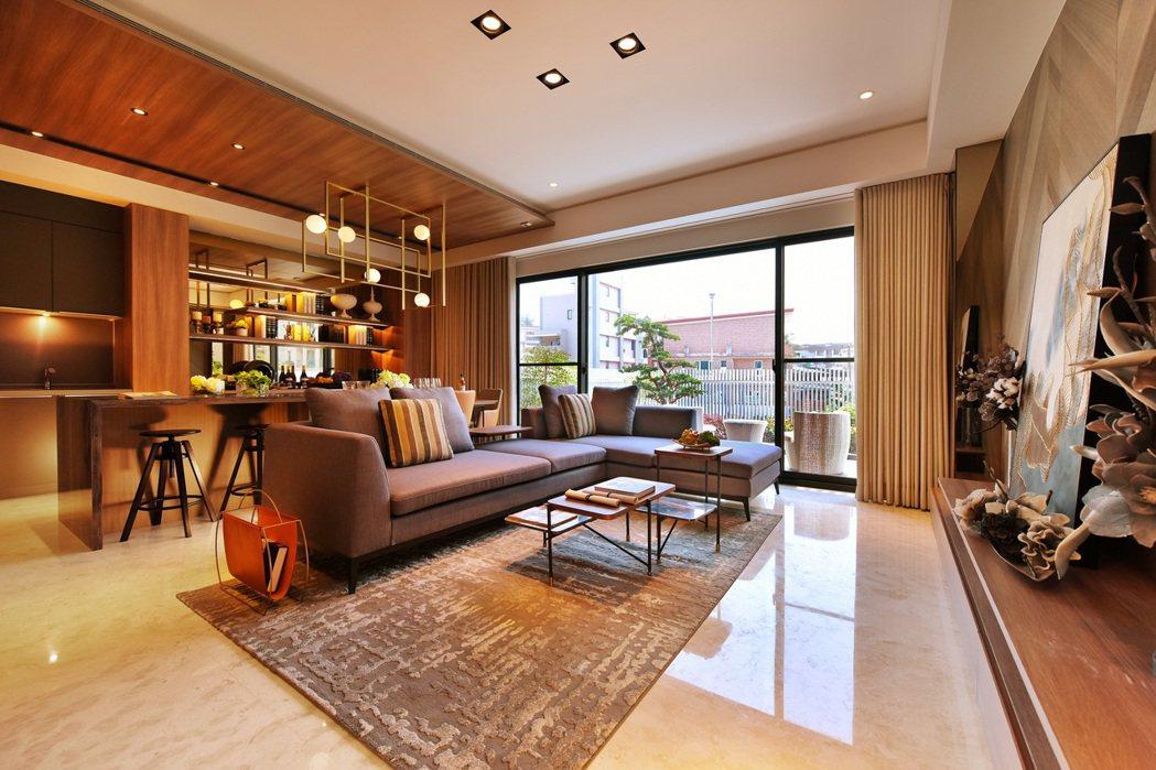 住別墅,就是享受有天有地的閒適家居生活。 圖片提供/京城建設