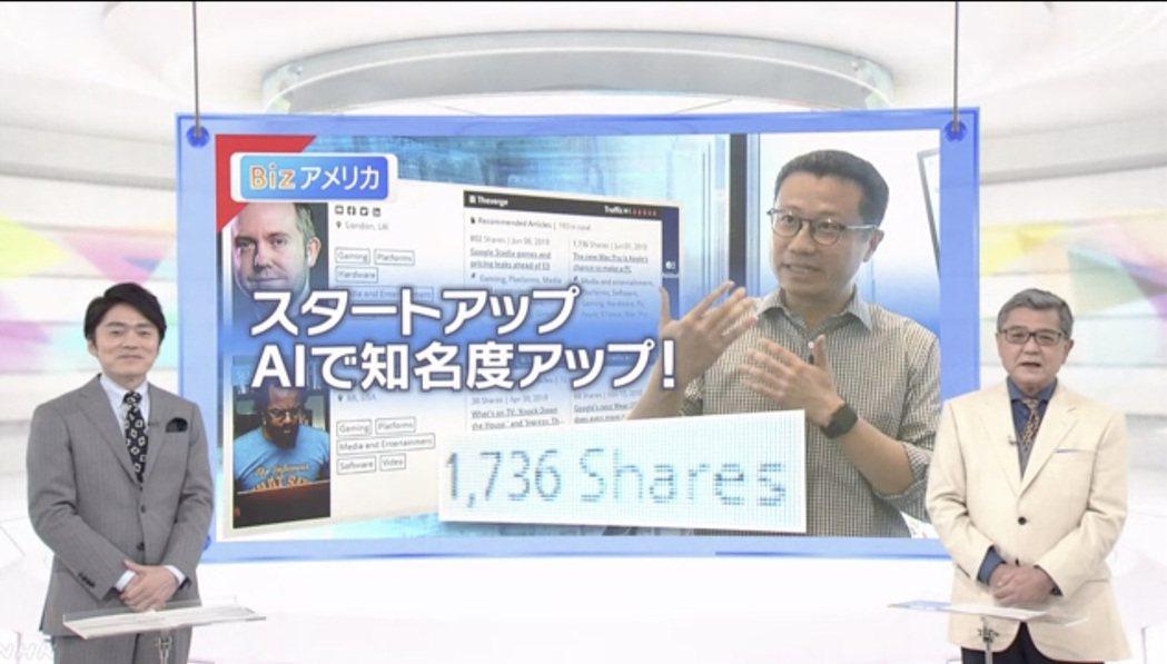 日本NHK特別報導SparkAmplify運用AI幫助企業提升知名度。 Spar...