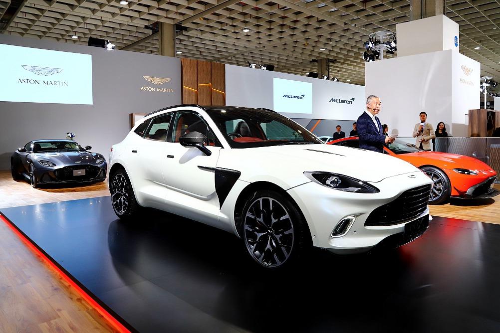 【2020台北車展】Aston Martin DBX售價千萬台幣內,明年第四季可交車