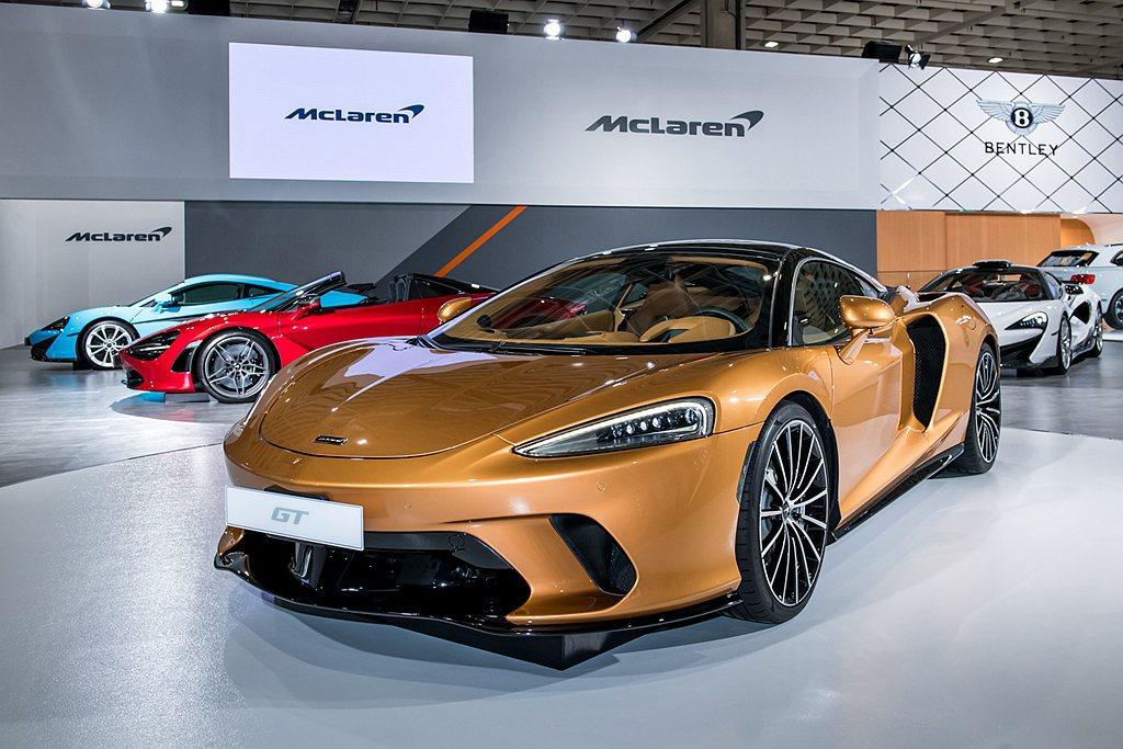 McLaren GT。 圖/McLaren提供