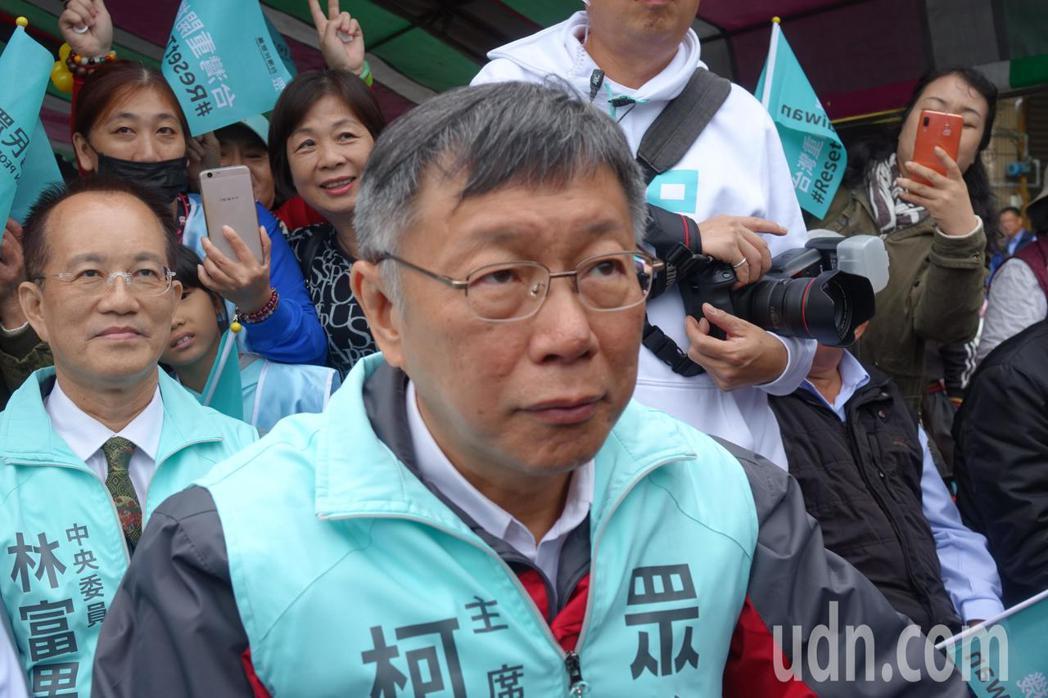台灣民眾黨主席柯文哲今天被問到未參選這次大選,會不會後悔?他說,後悔沒有用,就勇...