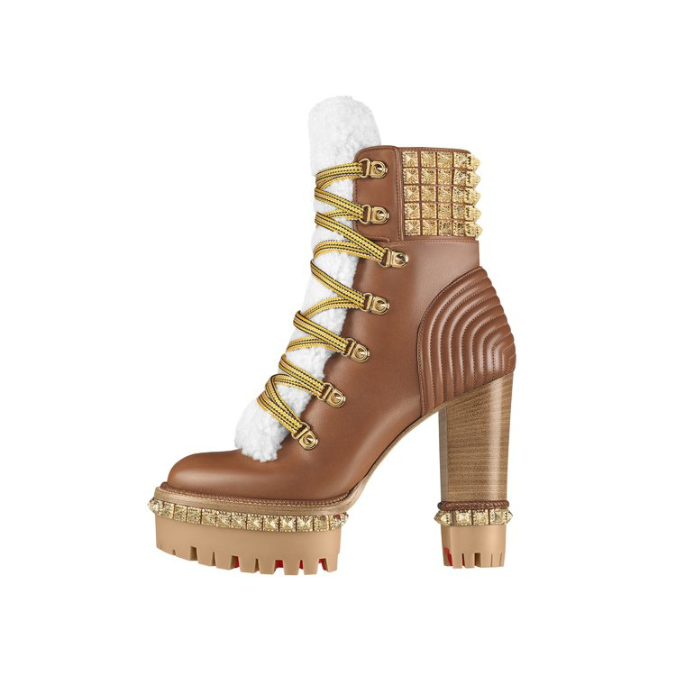 Yeti Donna高跟靴,售價75,300元。圖/Christian Loub...