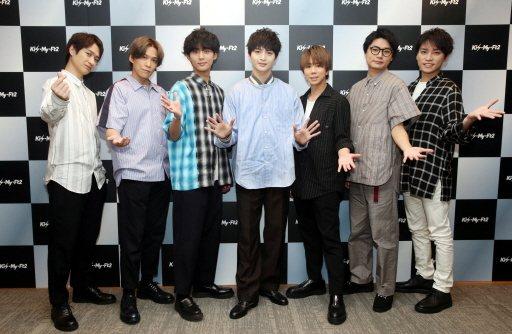 Kis-My-Ft2首度來台演出。記者林俊良/攝影