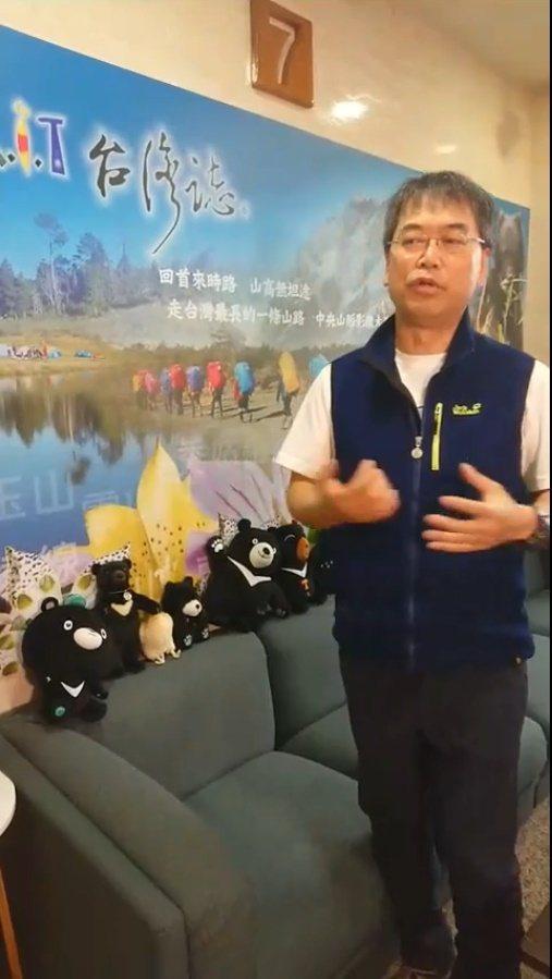 麥覺明開直播宣布「MIT台灣誌」。圖/摘自臉書