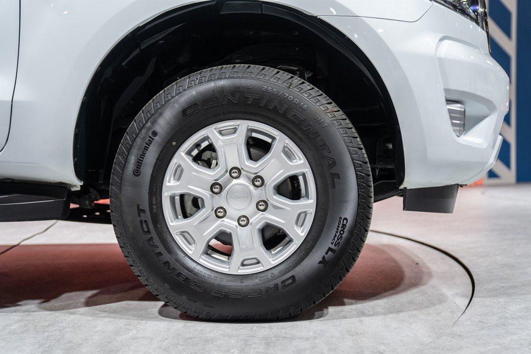 16吋配胎較一般的18吋配胎著重經濟性。 圖/福特六和提供