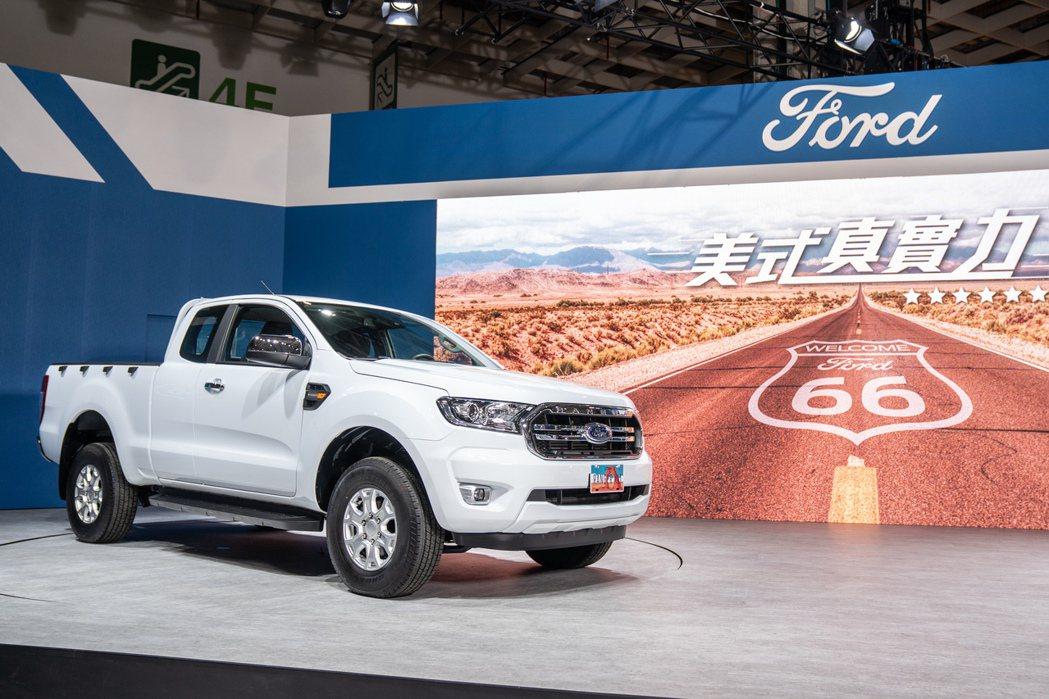 Ford Ranger 悏正宗美式皮卡王者之勢推出全新Ford Ranger X...