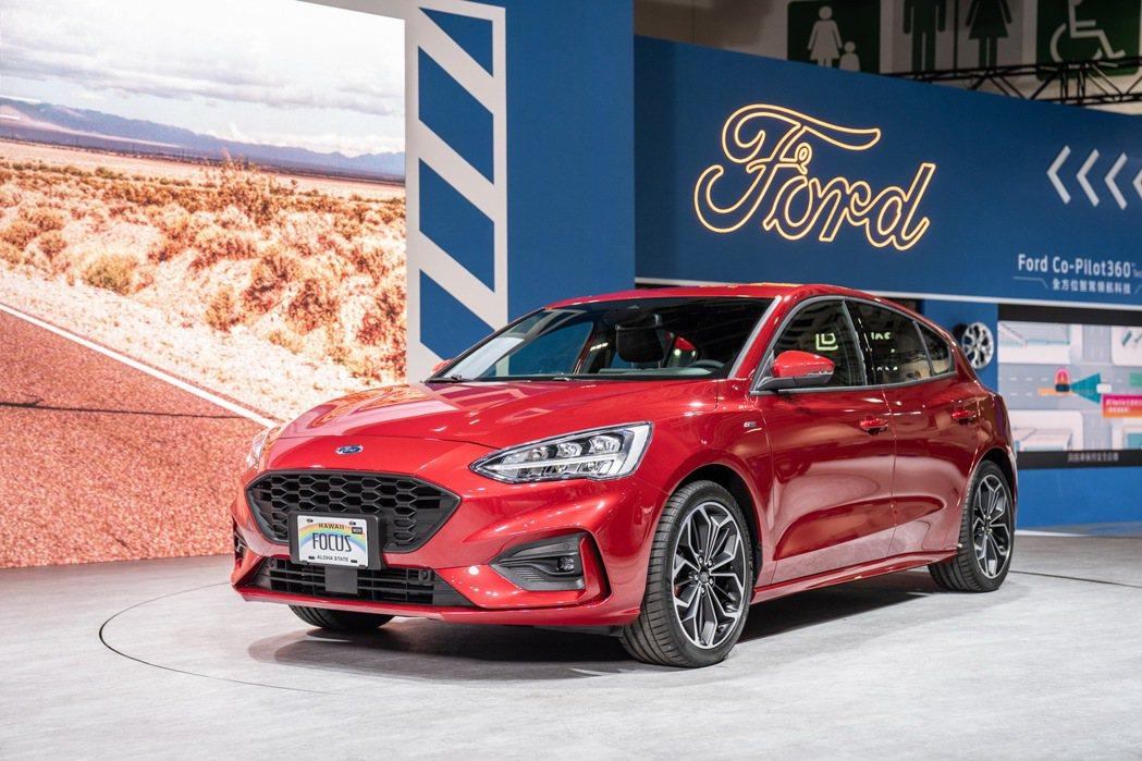 Ford Focus ST-Line Lommel賽道特化版換上全新獨立多連桿後...