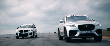 影/BMW X3 M Competition對上Jaguar F-Pace SVR!直線加速哪輛快?