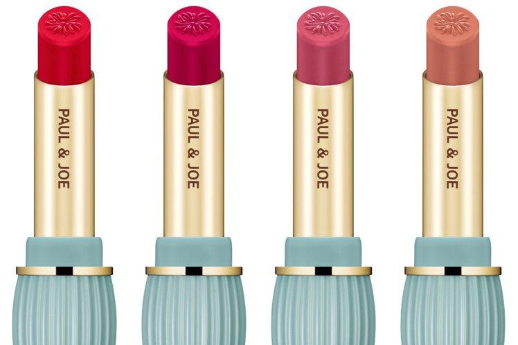 PAUL & JOE西洋菊保濕唇膏全17色,#104(由左至右)、#216、#3...