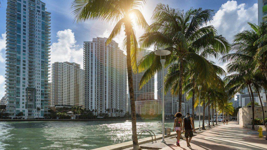 邁阿密。 (圖/彭博資訊)