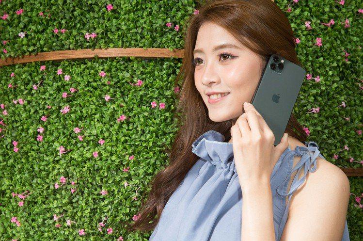 亞太電信指定方案搭iPhone 11系列只要1元。圖/亞太電信提供