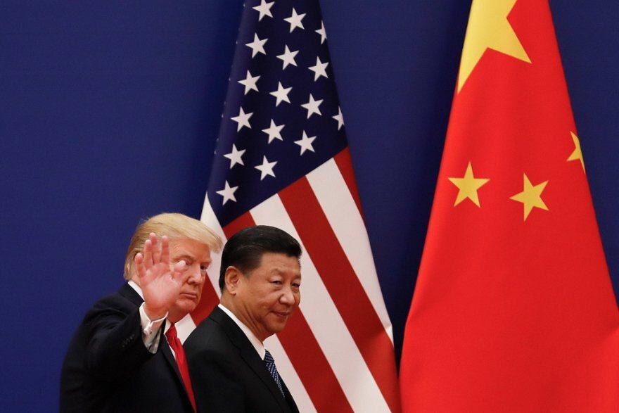 美中貿易戰使得全球經濟充滿不確定性因素,台灣也持續受影響。(美聯社資料照片)