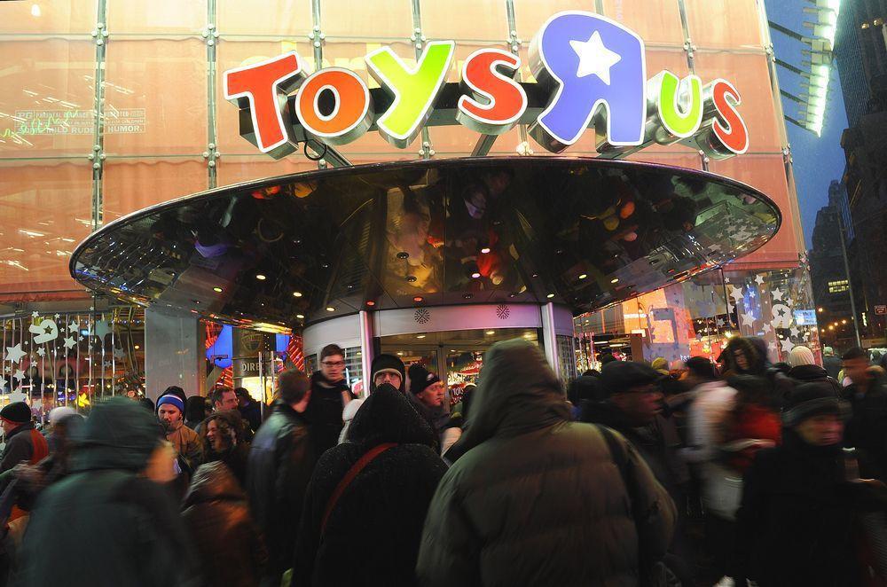 美國玩具零售商「玩具反斗城」在美破產,但在亞洲卻活好好。(美聯社)