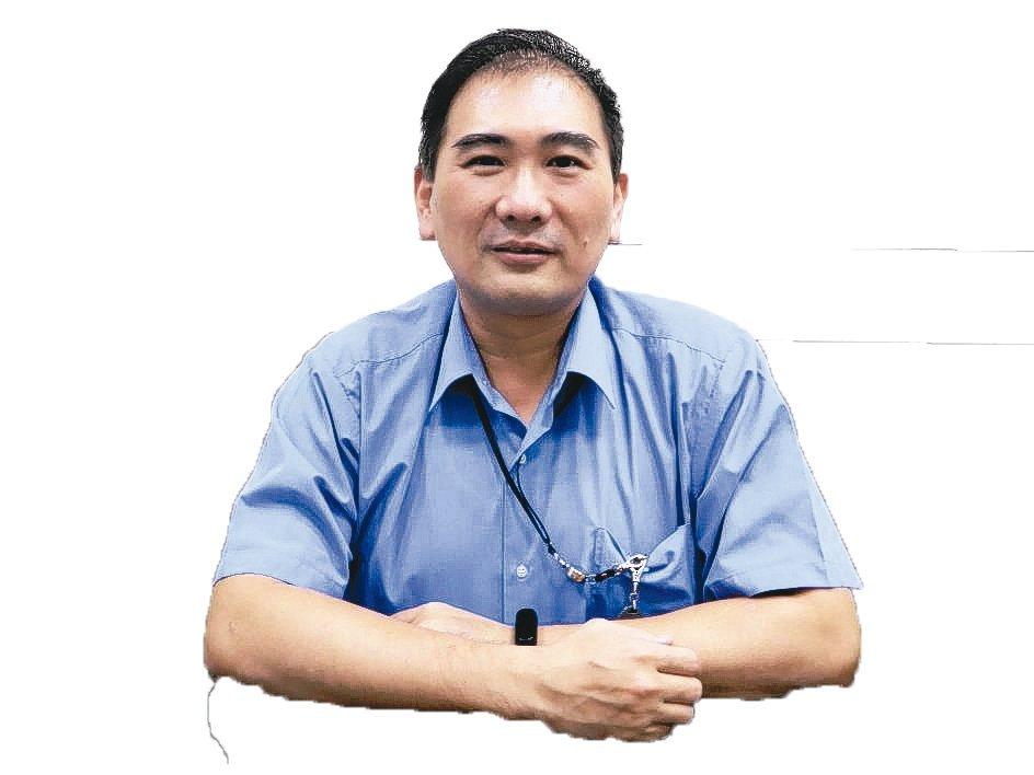 先構技術研發公司總經理陳昱均。 翁永全/攝影