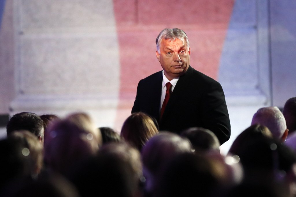 匈牙利現任總理奧班(Viktor Orban)欲推動平行法院計畫,現已撤回。 圖/美聯社