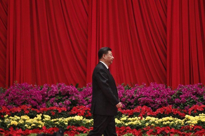 2022年下半年召開的中共二十大,習近平是否會交出總書記和中央軍委主席這兩個位子。 圖/美聯社