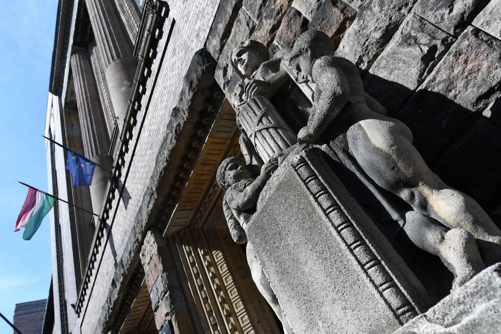 匈牙利法院外觀。 圖/法新社