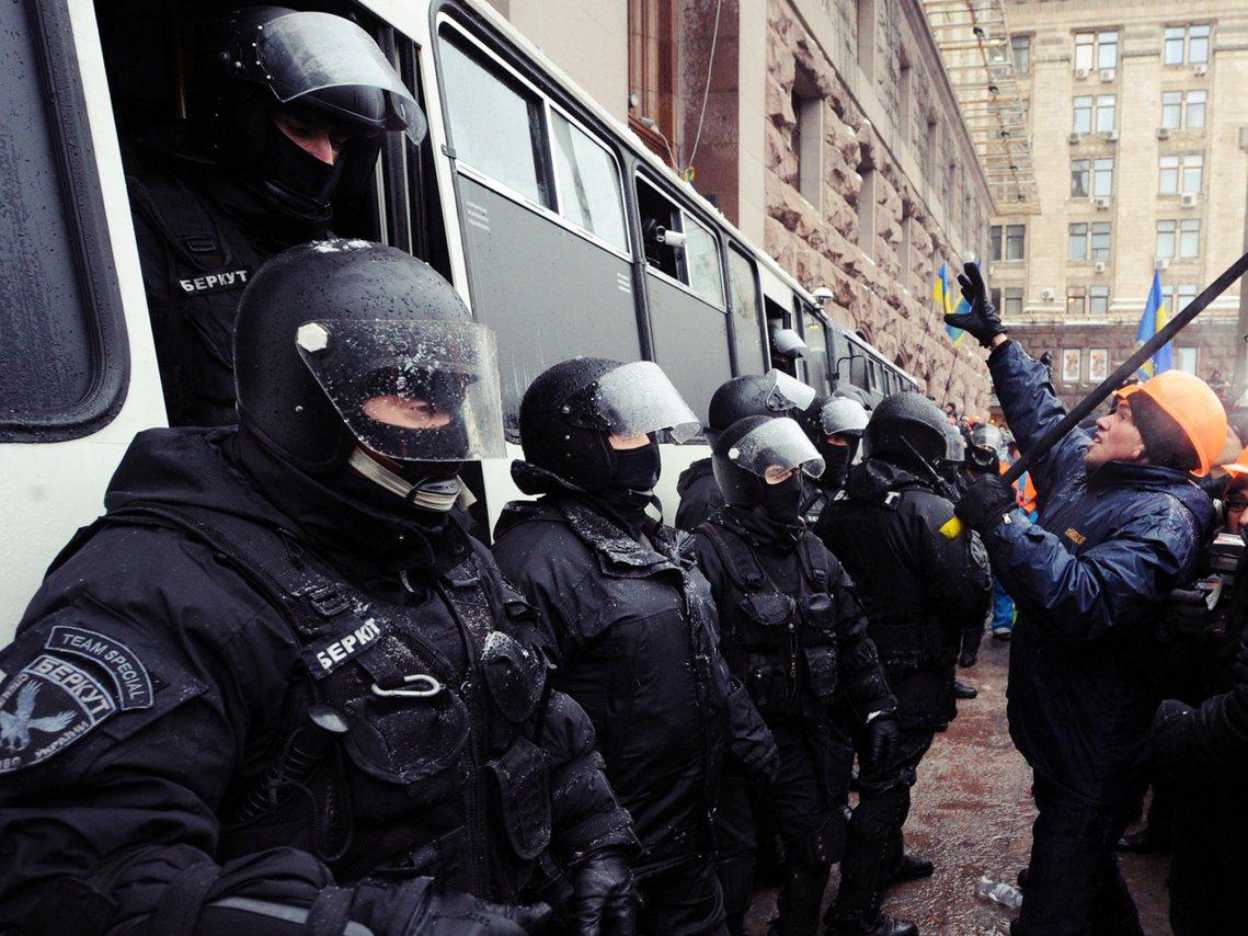2014年烏克蘭親歐盟反俄國示威的「獨立廣場革命」(Euromaidan Rev...