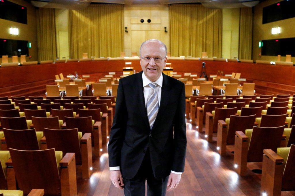 歐盟法院院長連納爾斯(Koen Lenaerts)。 圖/路透社