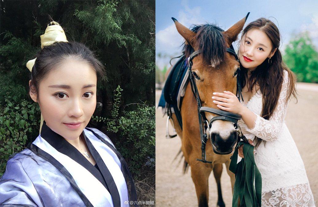 大陸女星劉潔2017年遭刺死。圖/擷自微博