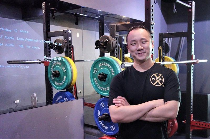 英語能力幫助許智鈞快速吸收最新健身知識,持續自我精進。 (攝影/賴亭宇)