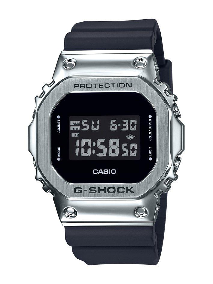 G-Shock GM-5600-1腕表,不鏽鋼表殼6,000元。圖/Casio提...