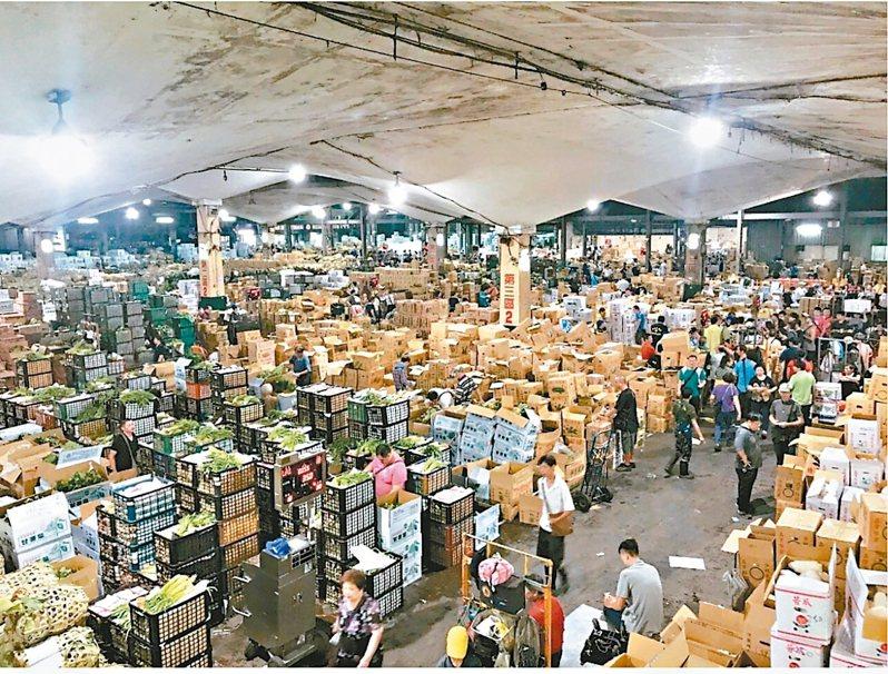北市府委託北農、畜產、漁產公司經營批發市場,6年合約今天到期,不料市場處昨才發函議會要求同意續約。 圖/市場處提供