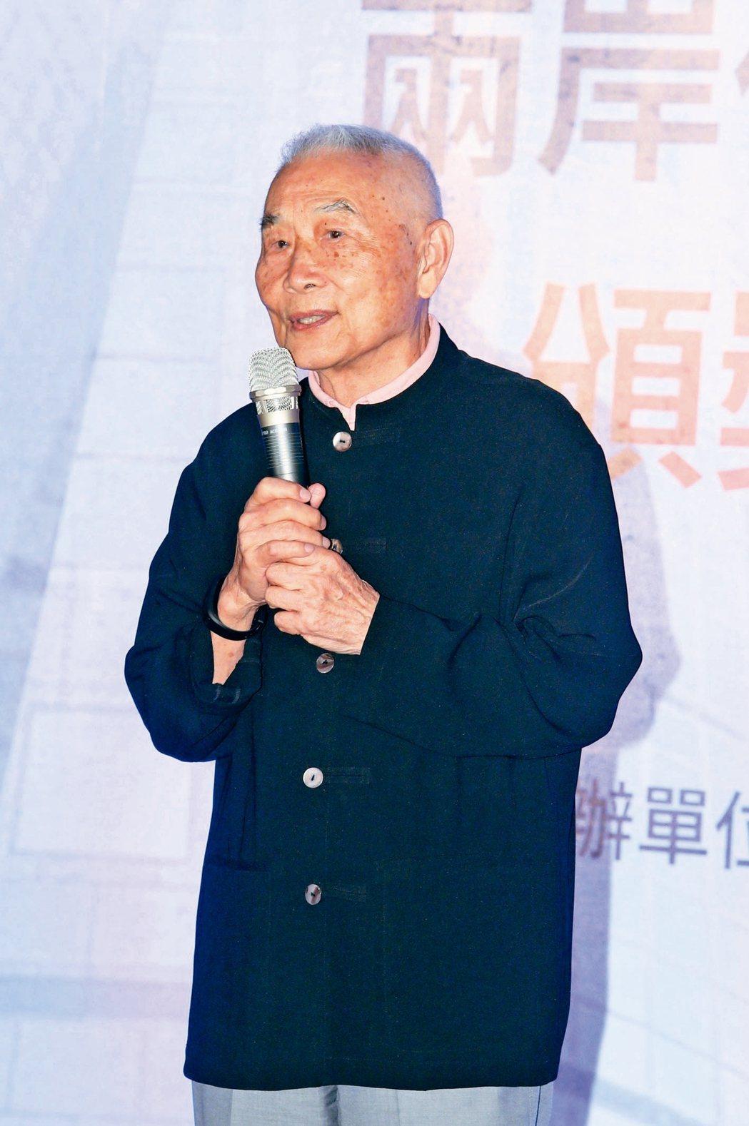 國家文藝獎得主陳邁。 圖/聯合報系資料照片