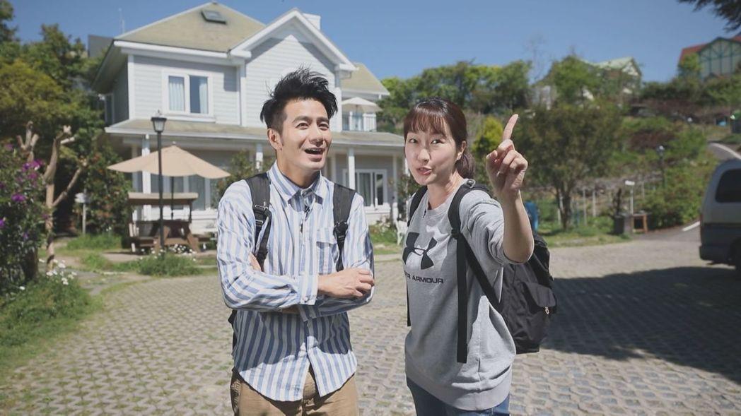 巴鈺和郭彥均搭檔快1年了,對他的暖心讚不絕口。圖/中天提供