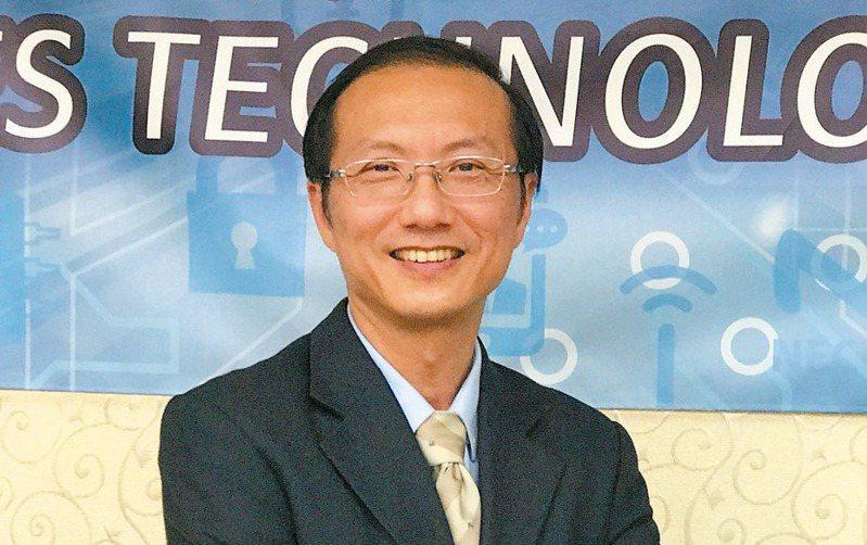 晶心科總經理林志明。 聯合報系資料照