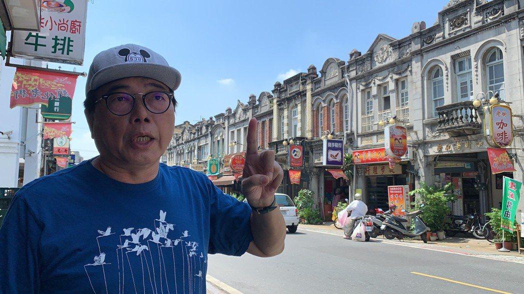 王榮森退休後返鄉積極投入社造工作,透過導覽解說,希望把台南新化家鄉的美,推廣讓更...