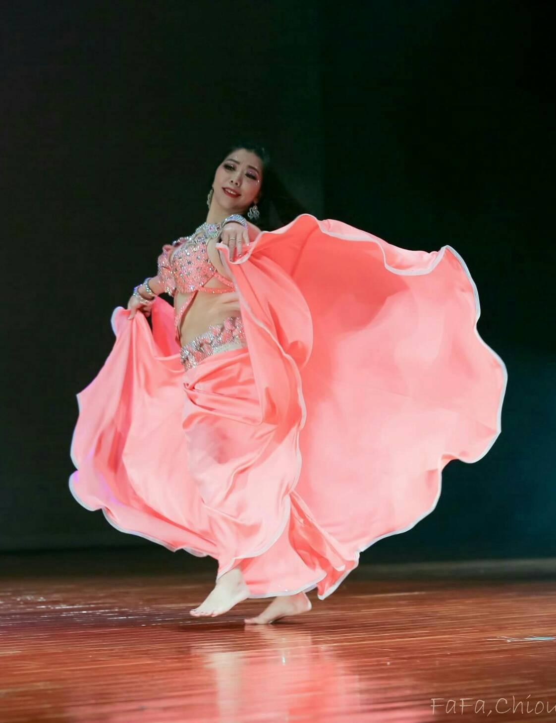 賴宜珊重拾舞蹈今年挑戰自我,接連參加3場國際舞蹈大賽,並都拿下冠軍獎座。 圖/賴...