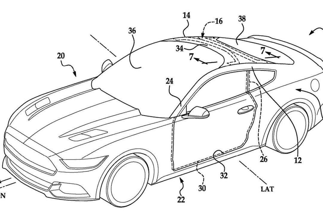 擋風玻璃延伸至車頂?Ford已經為此申請了專利!