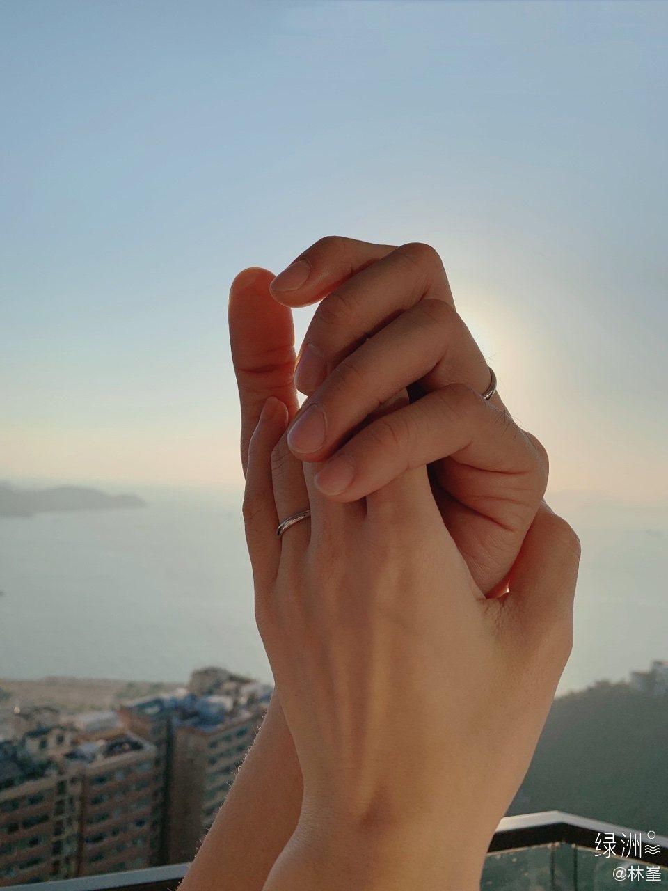 林峯宣佈與張馨月結婚了。圖/擷自微博