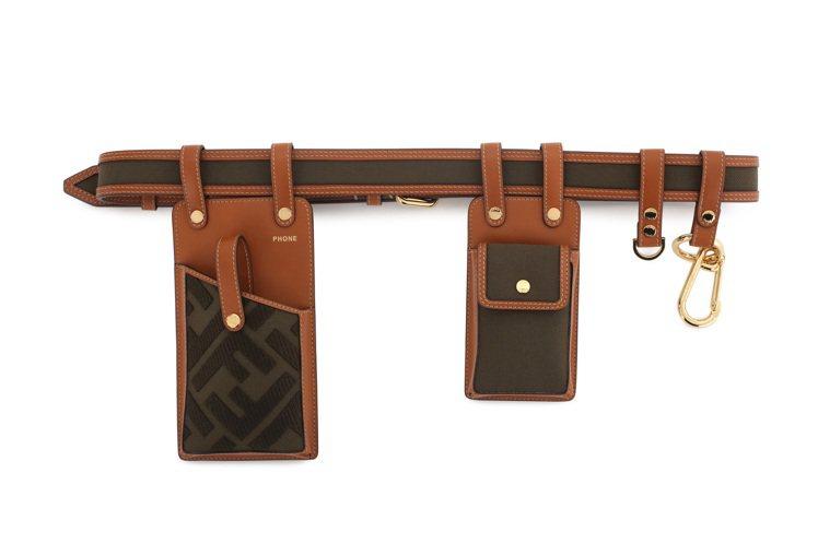 FENDI Giant Pocket設計腰包,售價54,000元。圖/FENDI...