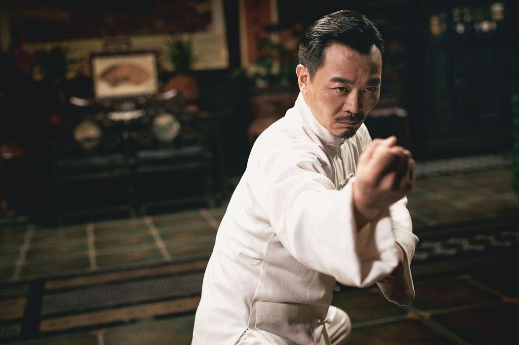 吳樾在「葉問4:完結篇」飾演太極拳高手萬宗華。圖/華映提供