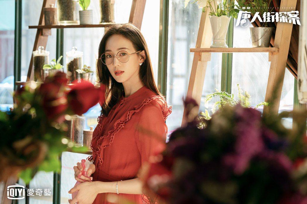 張鈞甯在「唐人街探案」中飾演冷艷型美人。圖/愛奇藝台灣站提供