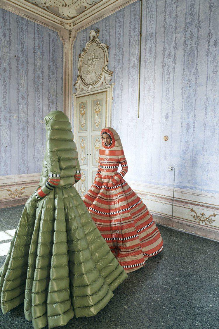 Pierpaolo Piccioli對於色彩運用有極為獨到的敏銳度。圖/MONC...