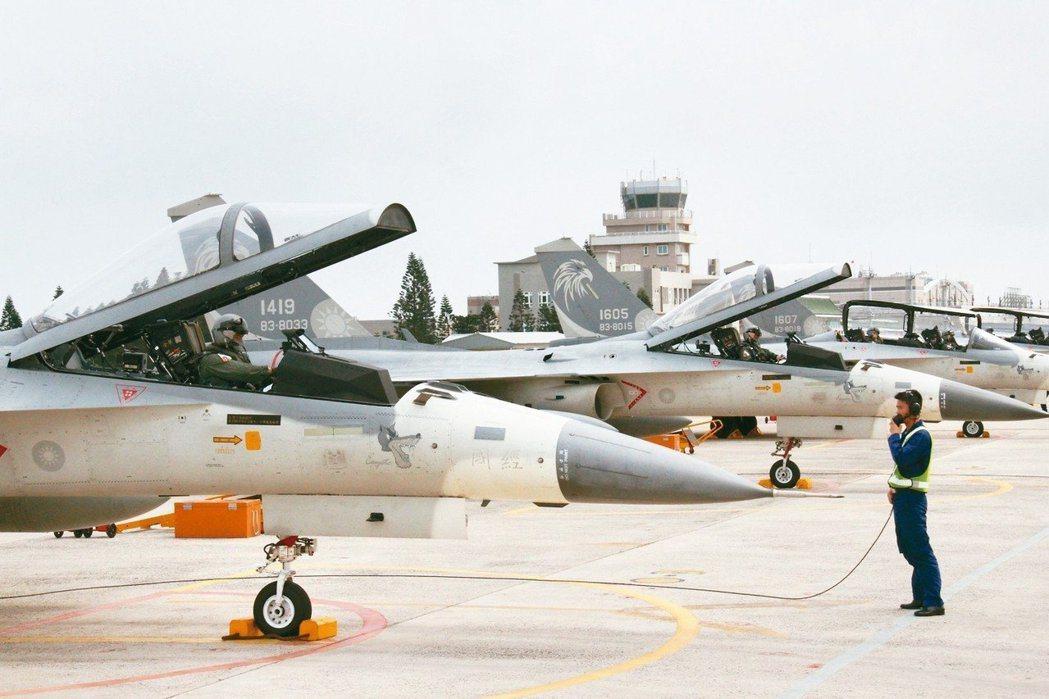 IDF戰機即將改造為教練機。圖/聯合報系資料照片