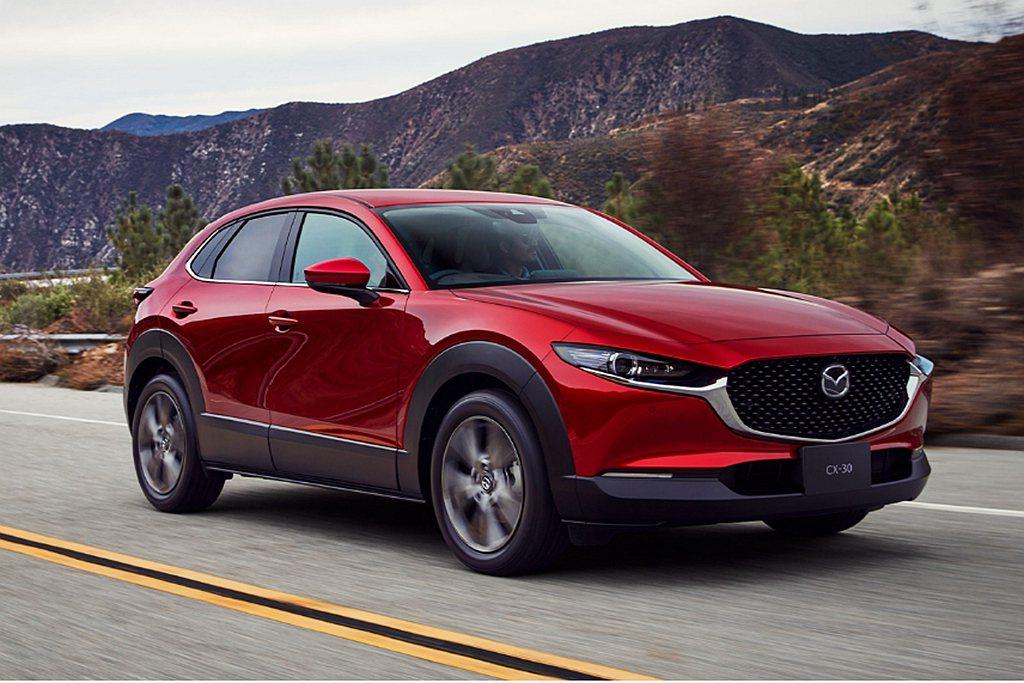 Mazda CX-30日本上市後市場訂單表現十分熱絡。 圖/Mazda提供